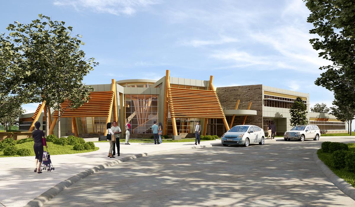 Dena'ina Wellness Center | Edward Parsons | Archinect