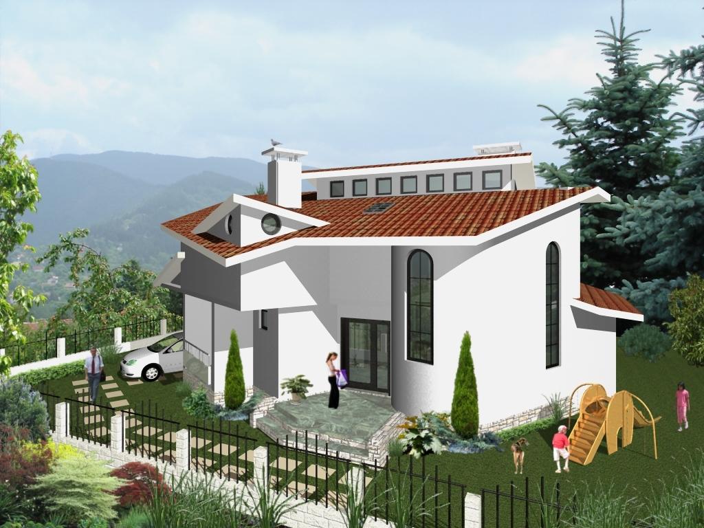 Private House Villa Radina - elevation