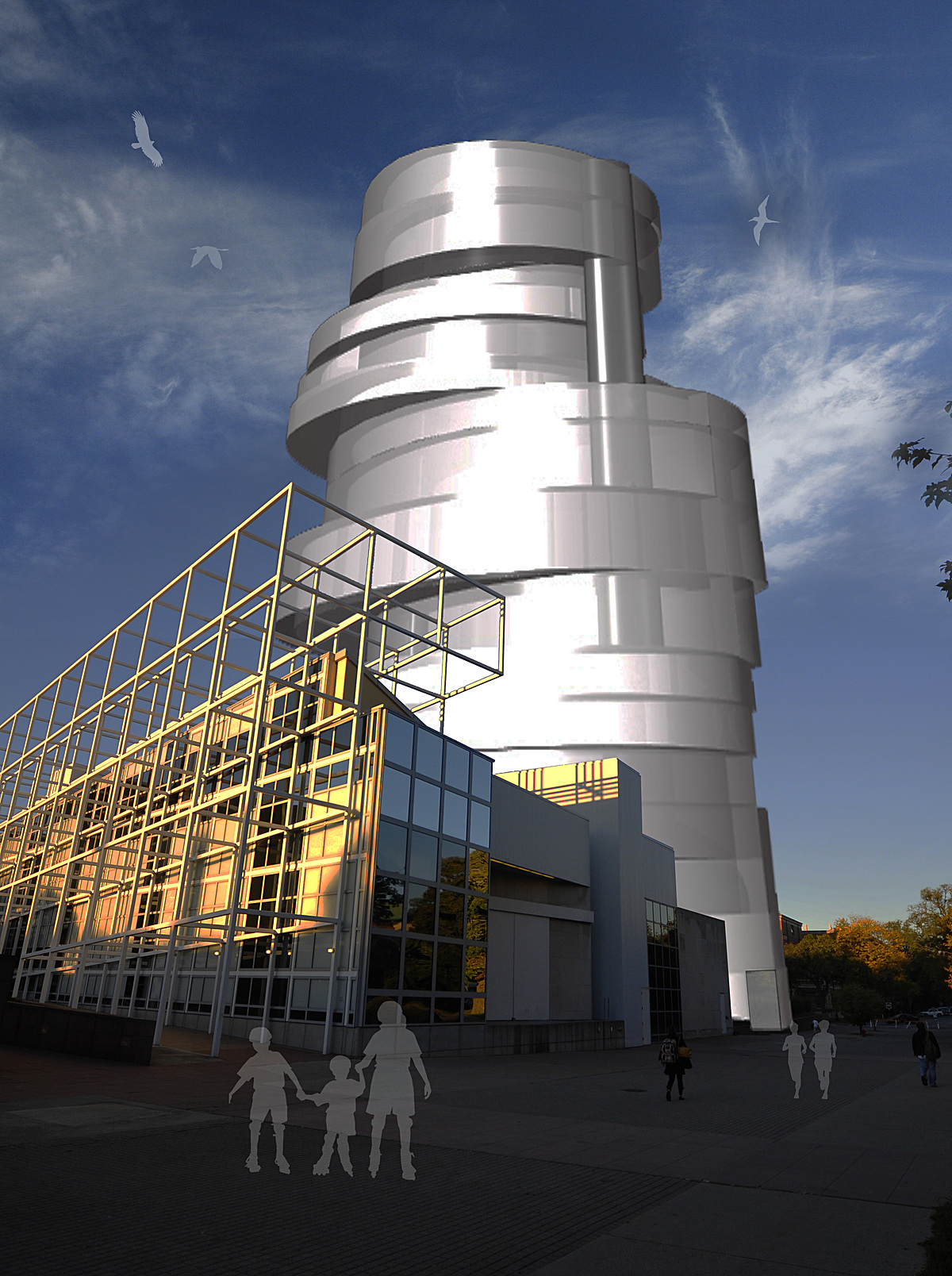 Ohio State S Wexner Center For The Arts Multipurpose Tower Susan Earp Archinect