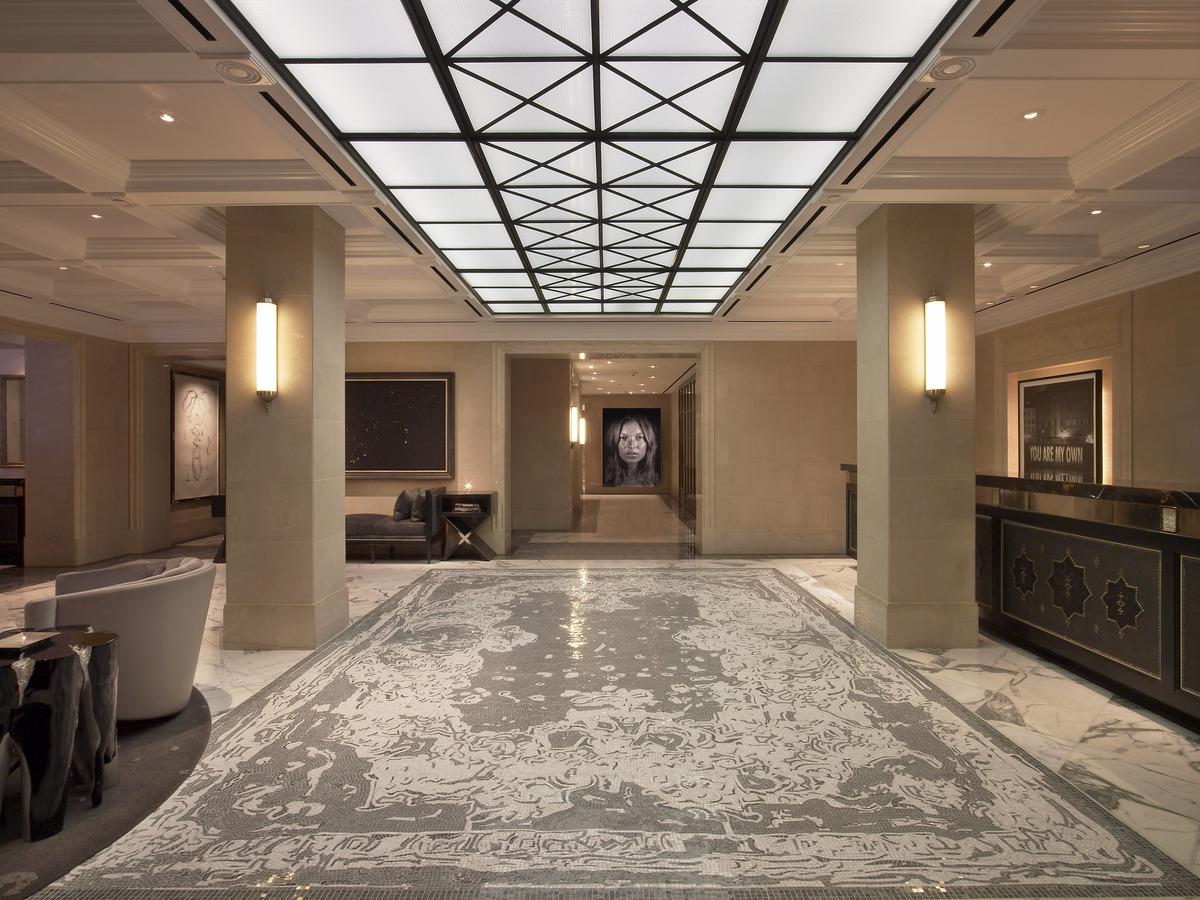The surrey hotel new york new york rottet studio for Interior design services new york