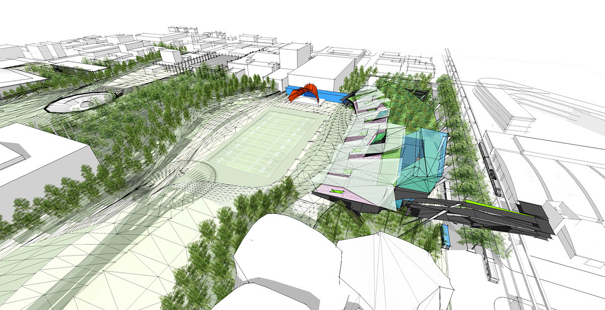 Overview (Image: Koning Eizenberg Architecture/ARUP)