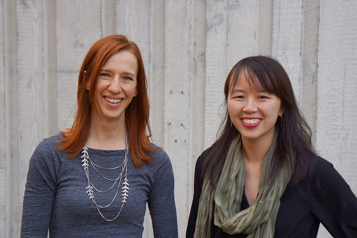 Working out of the box: Mary-Lynne Williams and Moneta Ho Kushner