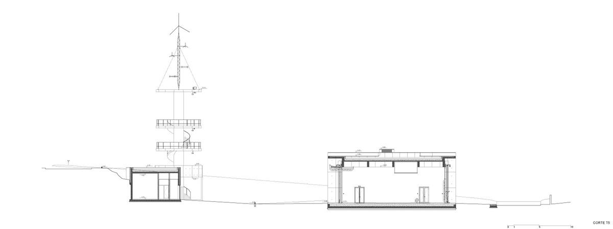 Cross section 2 (Image: Álvaro Siza Vieira)