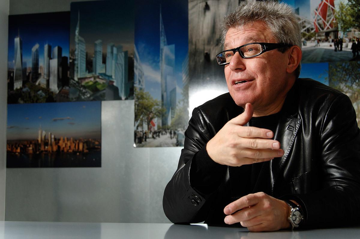 Lifetime Achievement in architectural community award: Daniel Libeskind