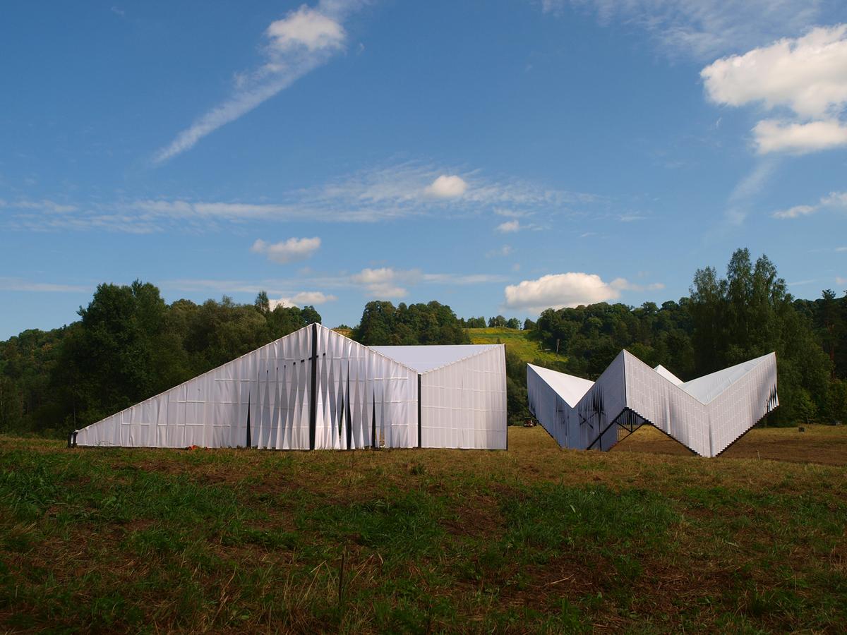 workshop and pavilion
