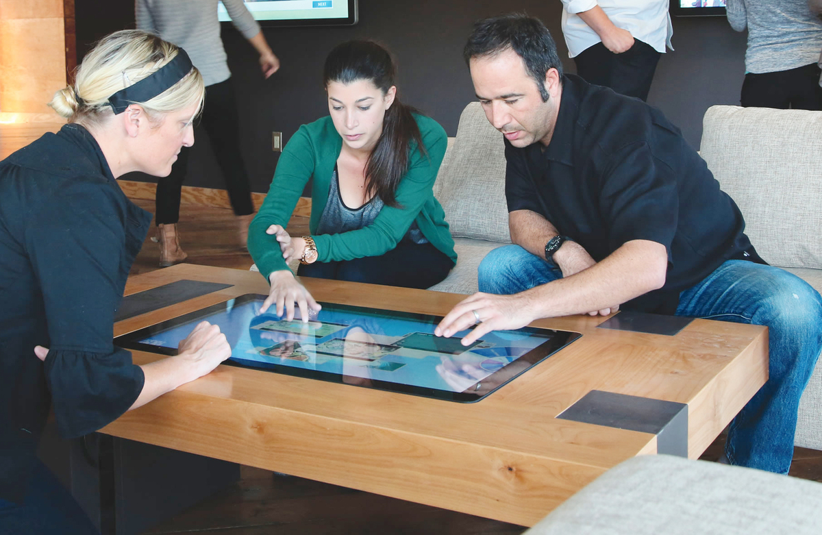 Interactive Coffee Table Interactive Coffee Table Rory Foubister Archinect