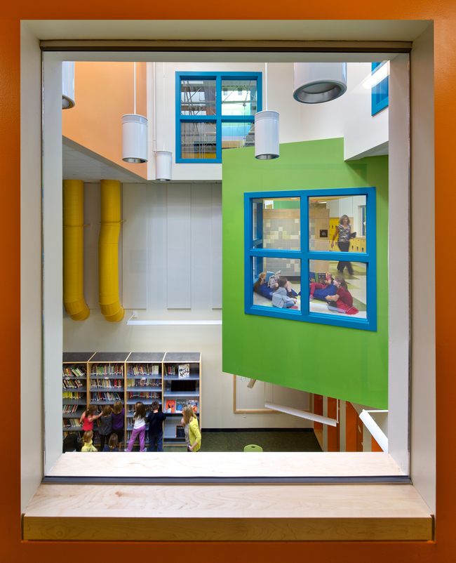 The Mill Brook Primary School by HMFH Architects phot by Ed Wonsek