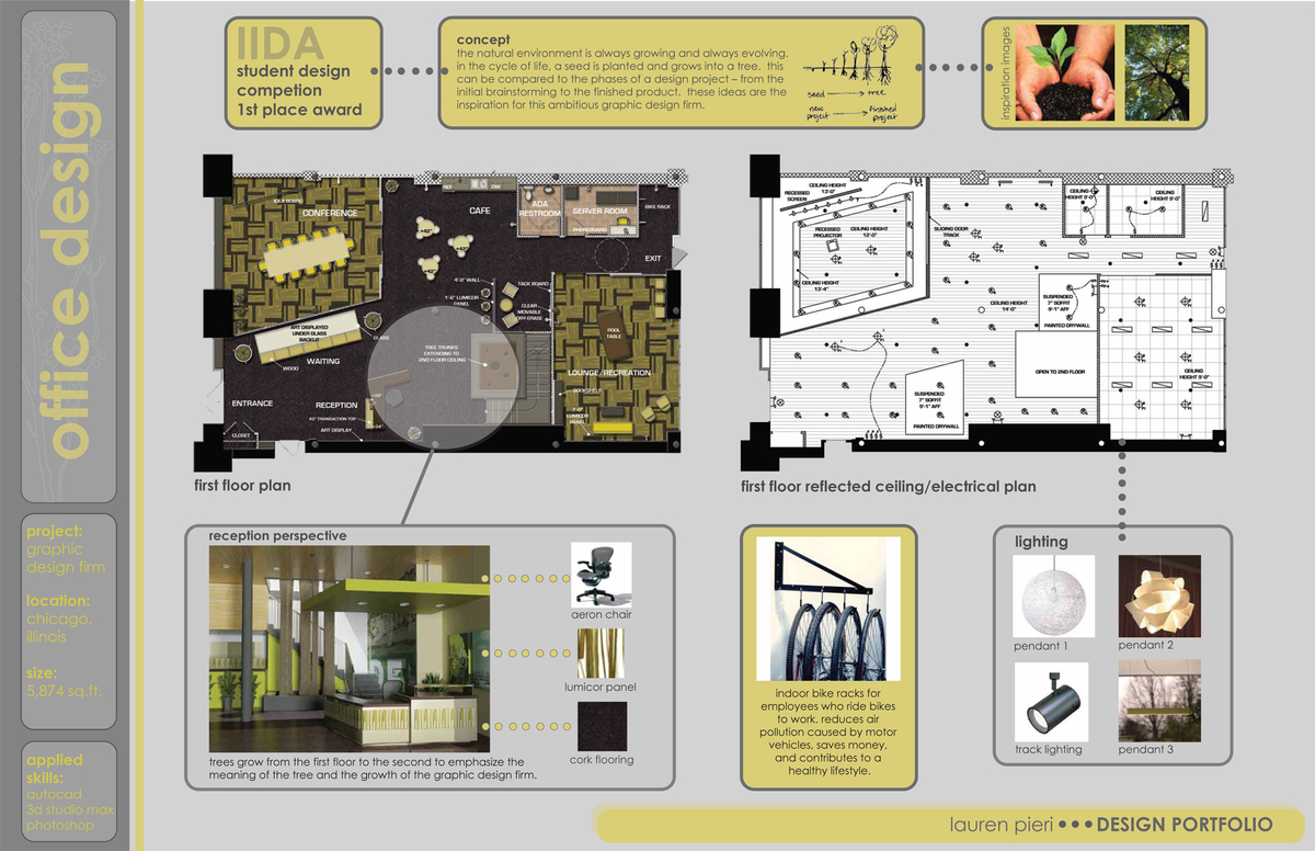 Purdue interior design portfolio lauren pieri archinect for How to make interior designer portfolio