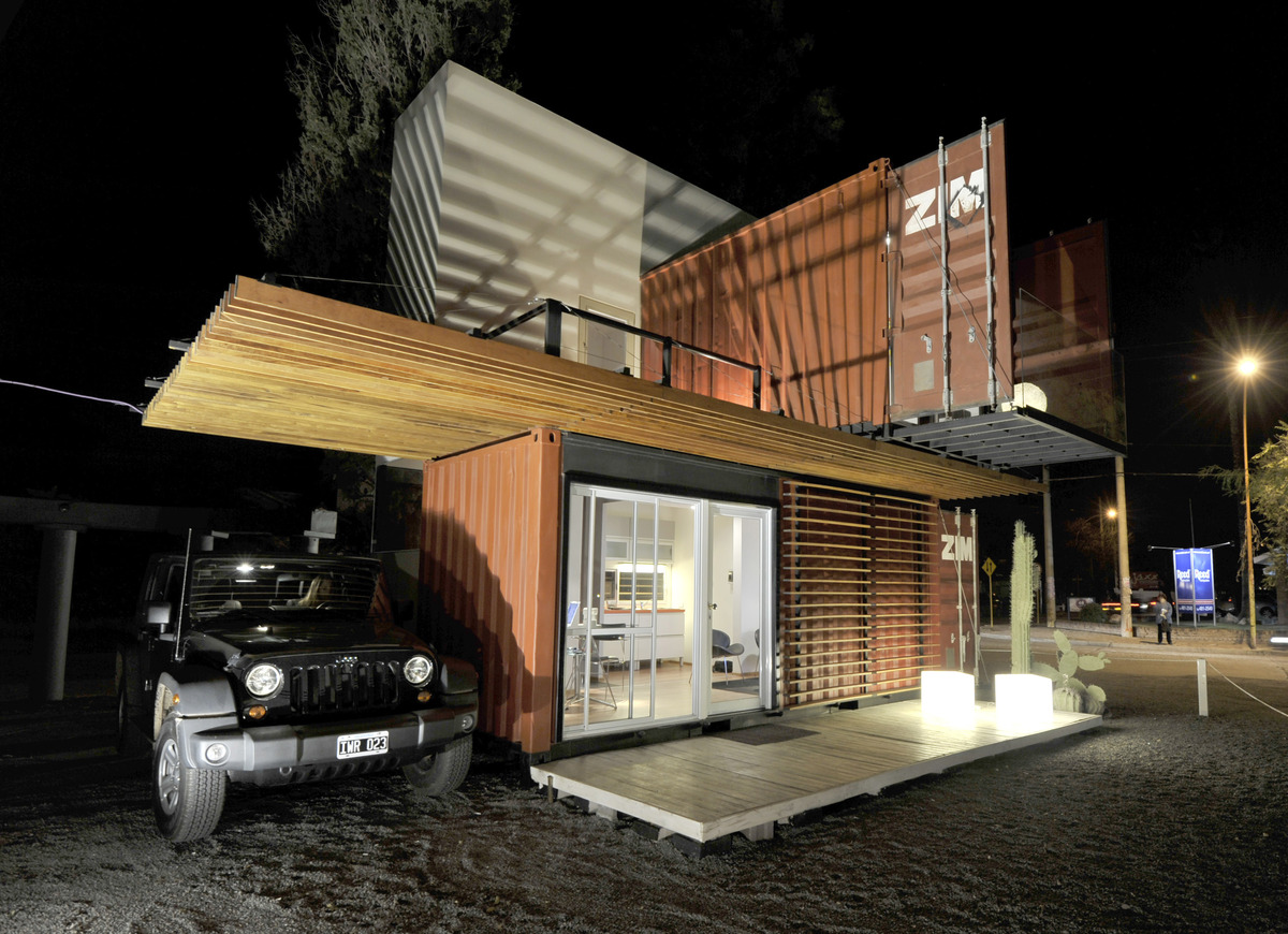 Container house prototype valentina redolfi archinect for Prototype house plan