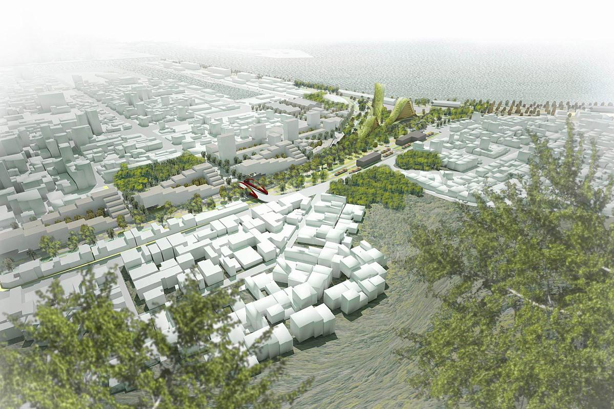 Aerial view (Image: De Architekten Cie.)
