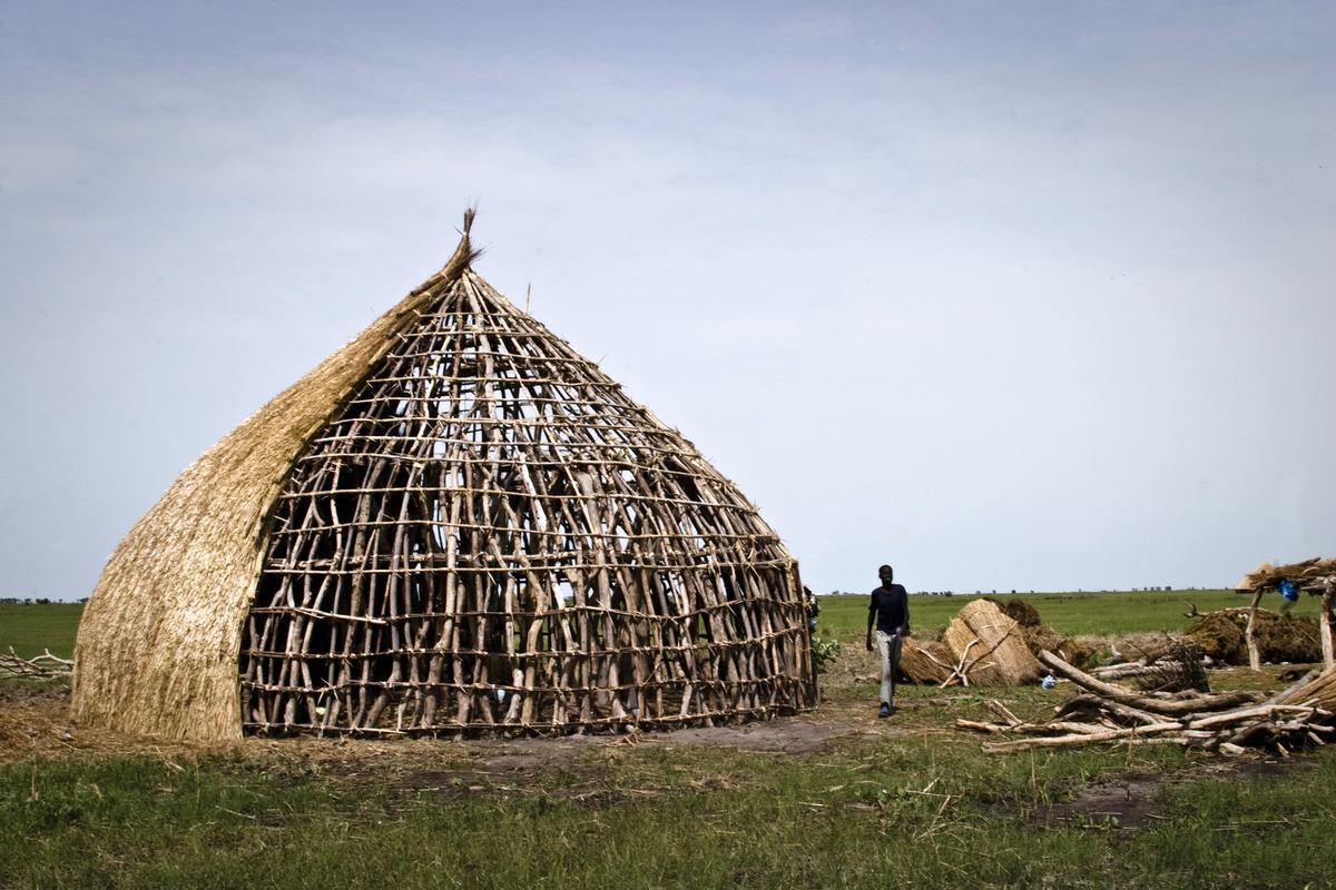 Barn: Jalle, South Sudan