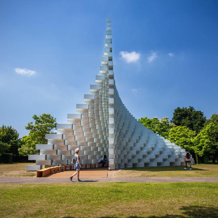 The Serpentine Pavilion 2016, London by Bjarke Ingles