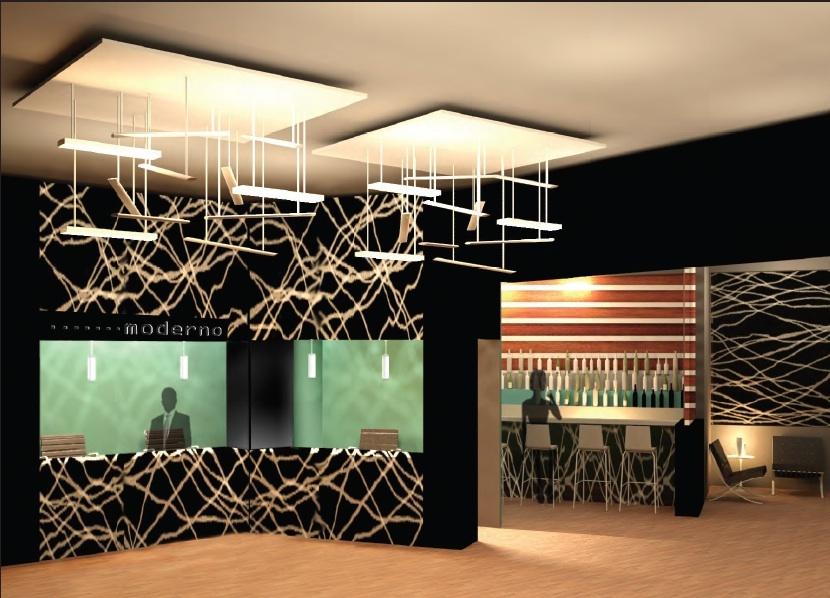 'Hotel Moderno' Reception 3dsmax Render