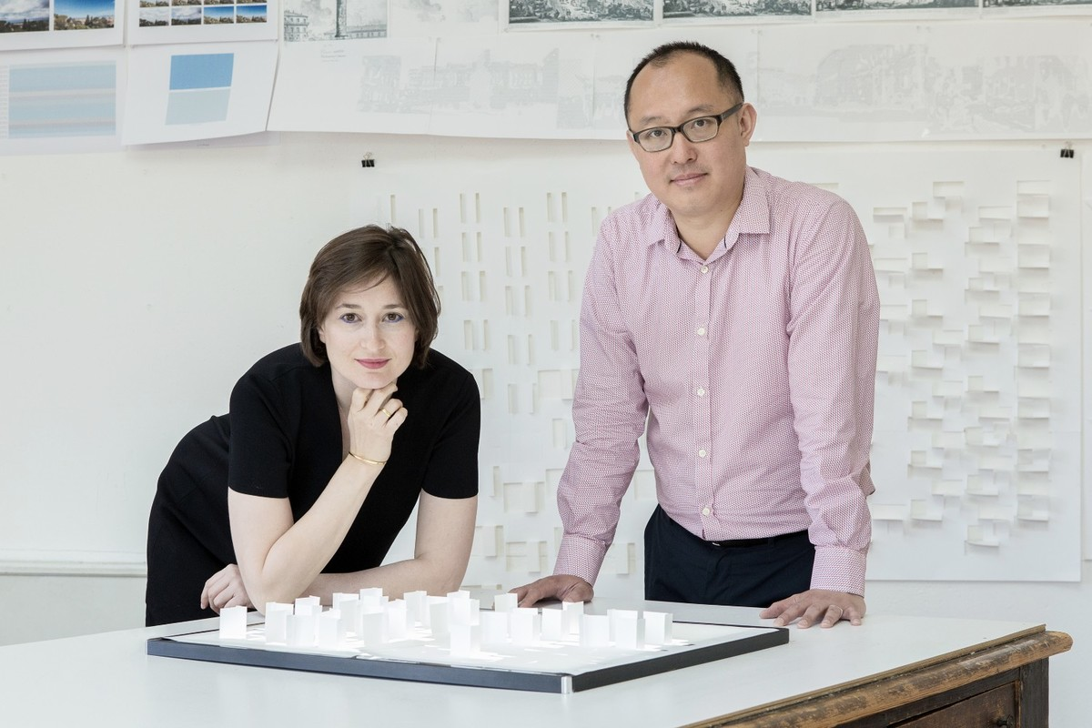 Rachely Rotem (left) and Phu Hoang (right). Founders of MODU Architecture.