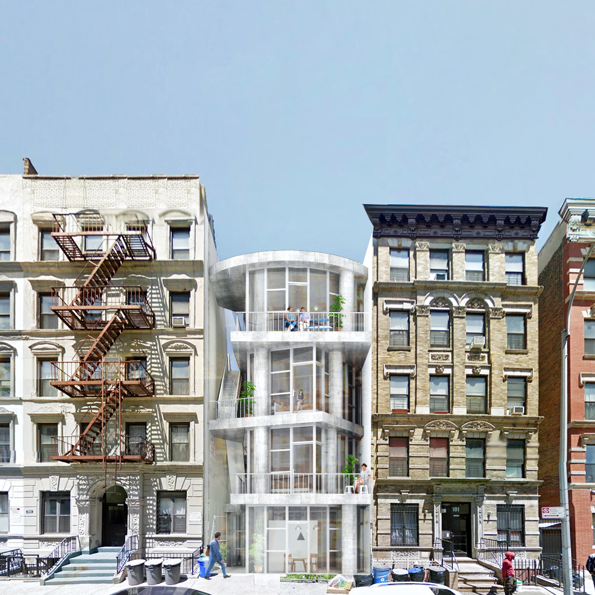 Kwong Von Glinow Design Office Wins New York Affordable