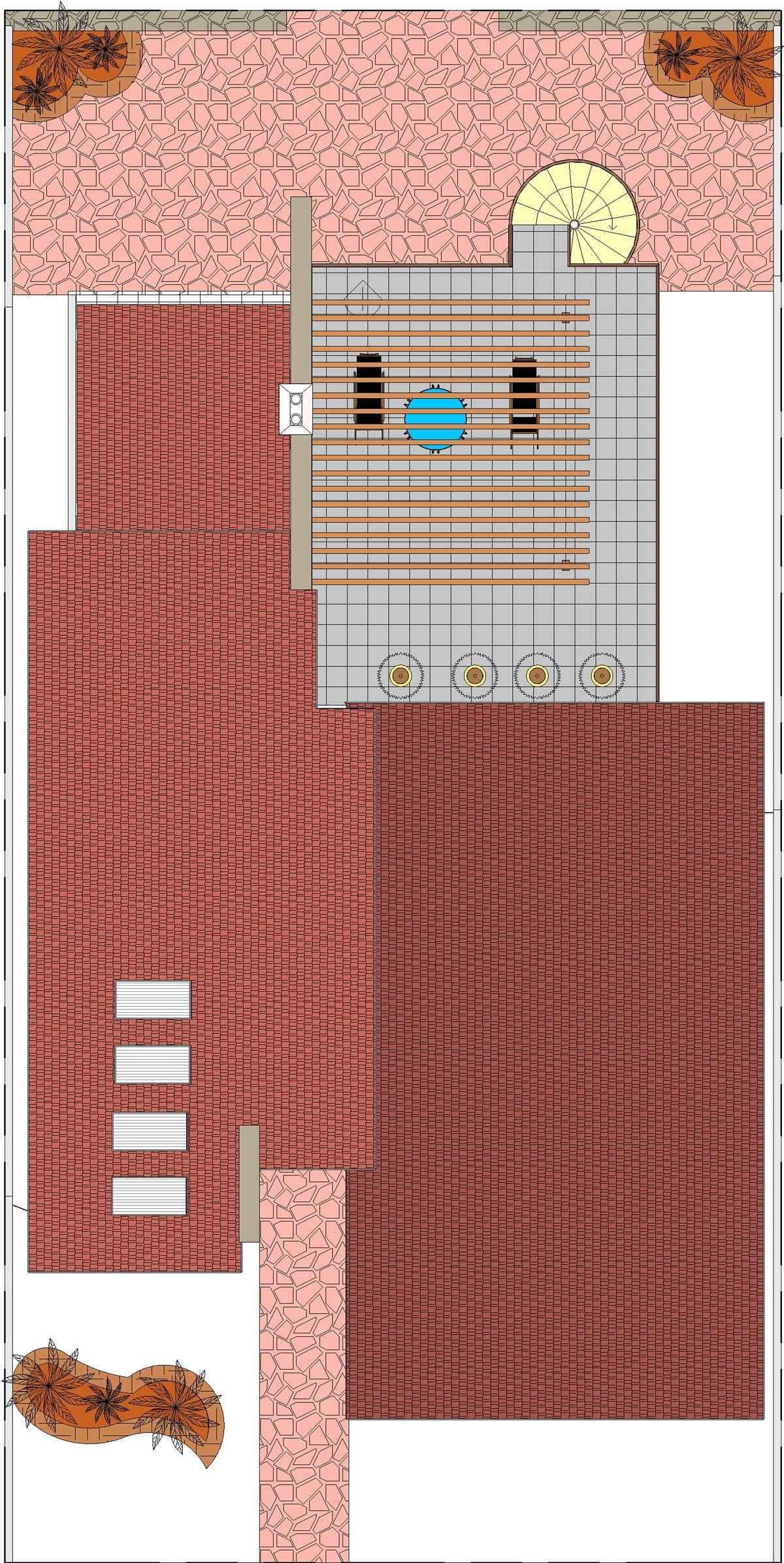 Roof plan presentation