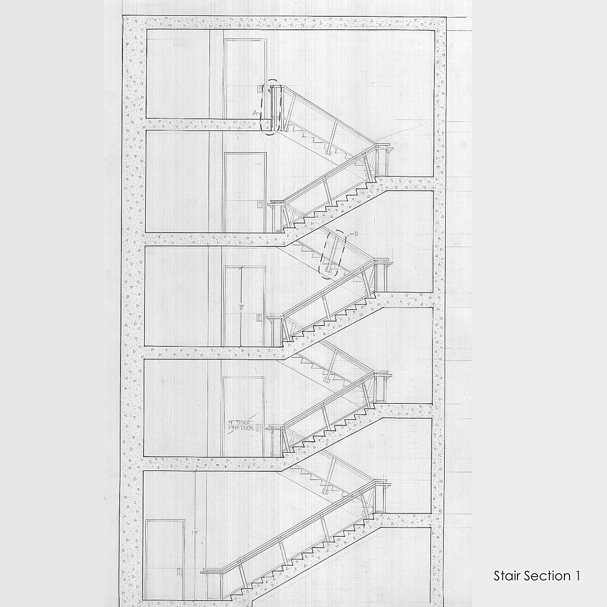 Staircase Section