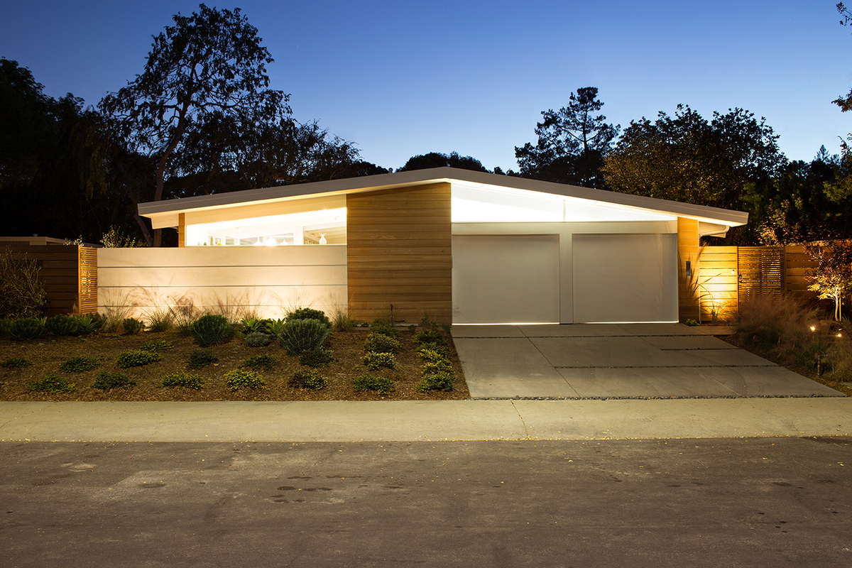 Truly Open Eichler Home Klopf Architecture Archinect