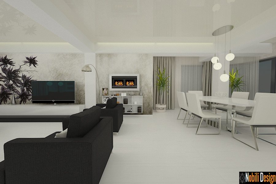 design interior case moderne amenajari interioare vile
