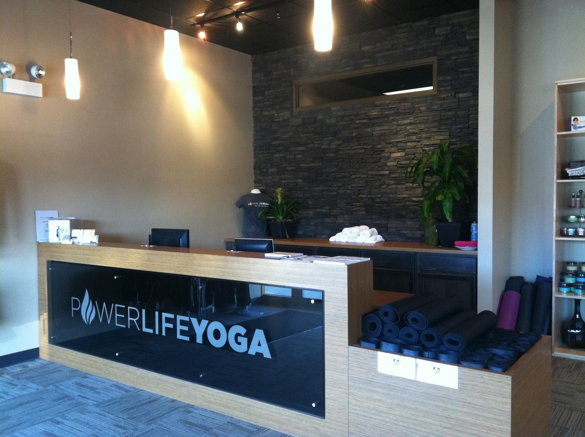 Power Life Yoga - West Des Moines, Iowa | Reception Desk