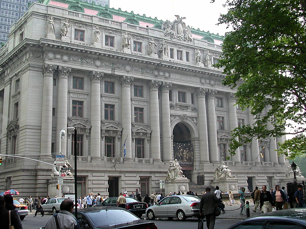 US Custom House Exterior