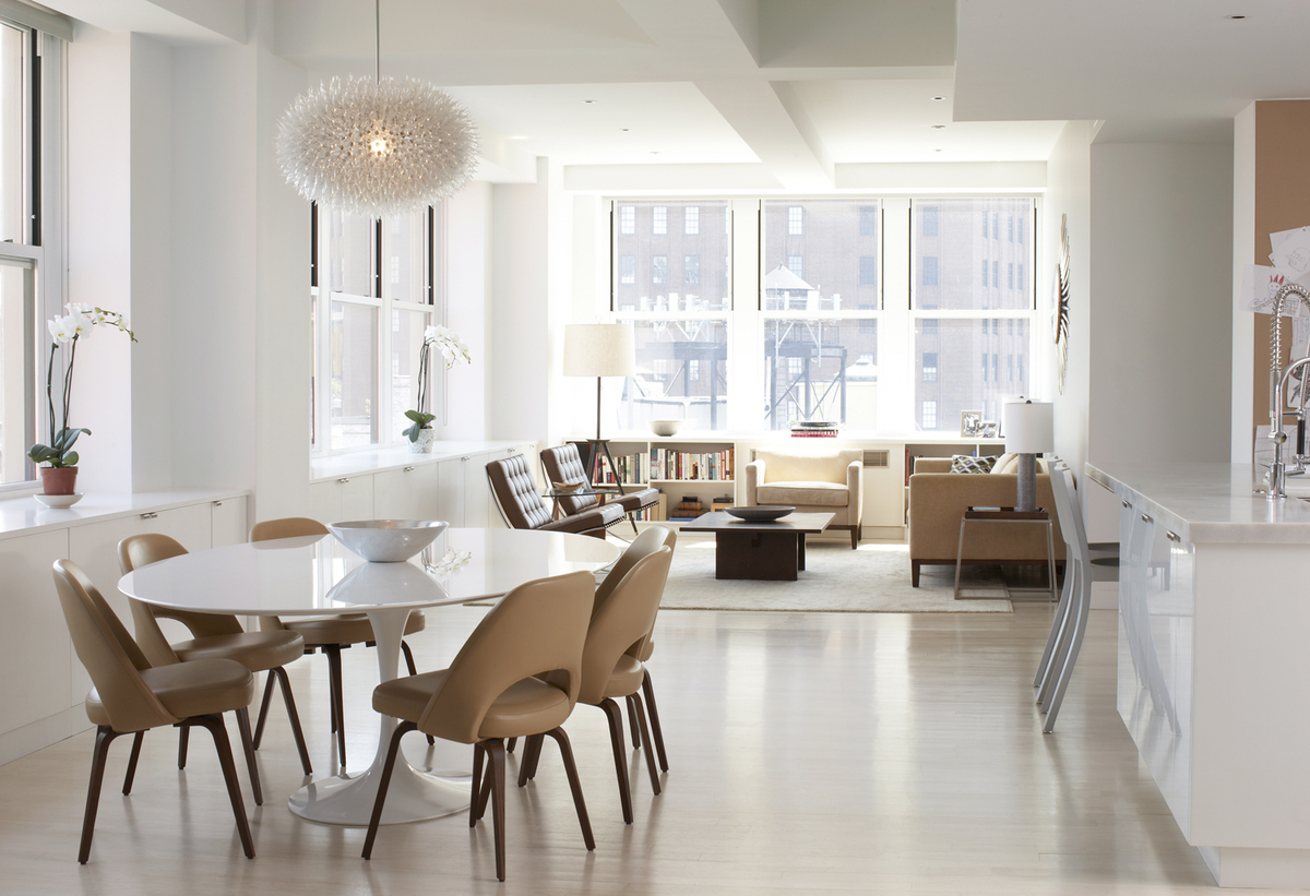 Tribeca New York N. Moore Street Duplex | BARKER FREEMAN DESIGN ...