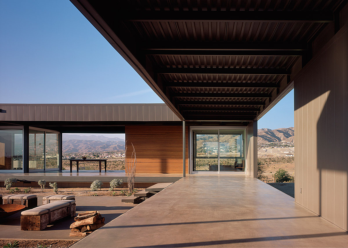 Desert house marmol radziner archinect for Home architecture