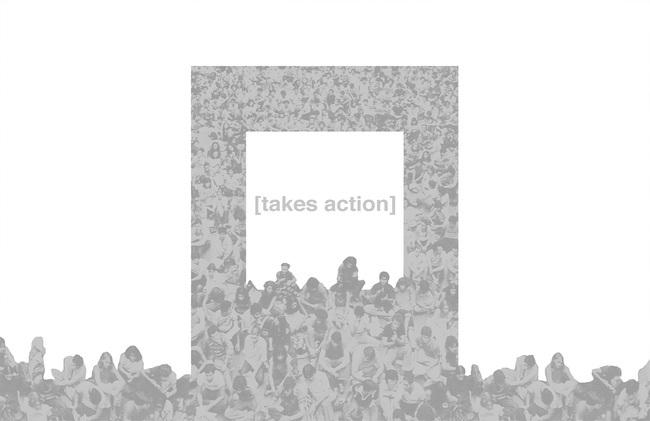 bracket [takes action]
