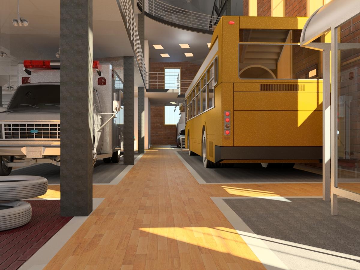 Level 1 Bus Area