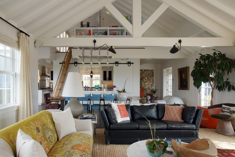 Wauwinet Ramble Living Room. Photo: T.G. Olcott