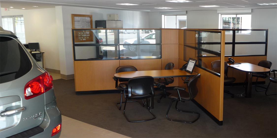 Reused and Custom Reconfigured Sales Kiosk
