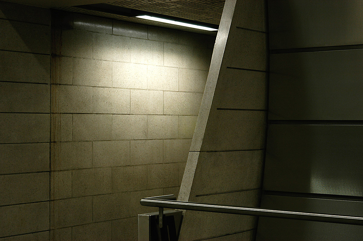 Southwark underground station by MacCormac Jamieson Prichard, London.