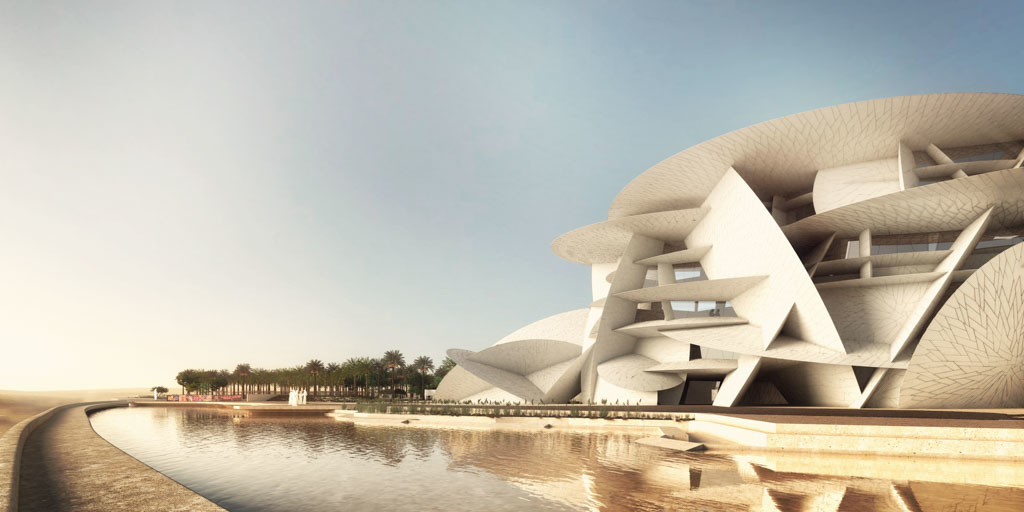 National museum of qatar azhar abbas archinect for Architecture firms in qatar