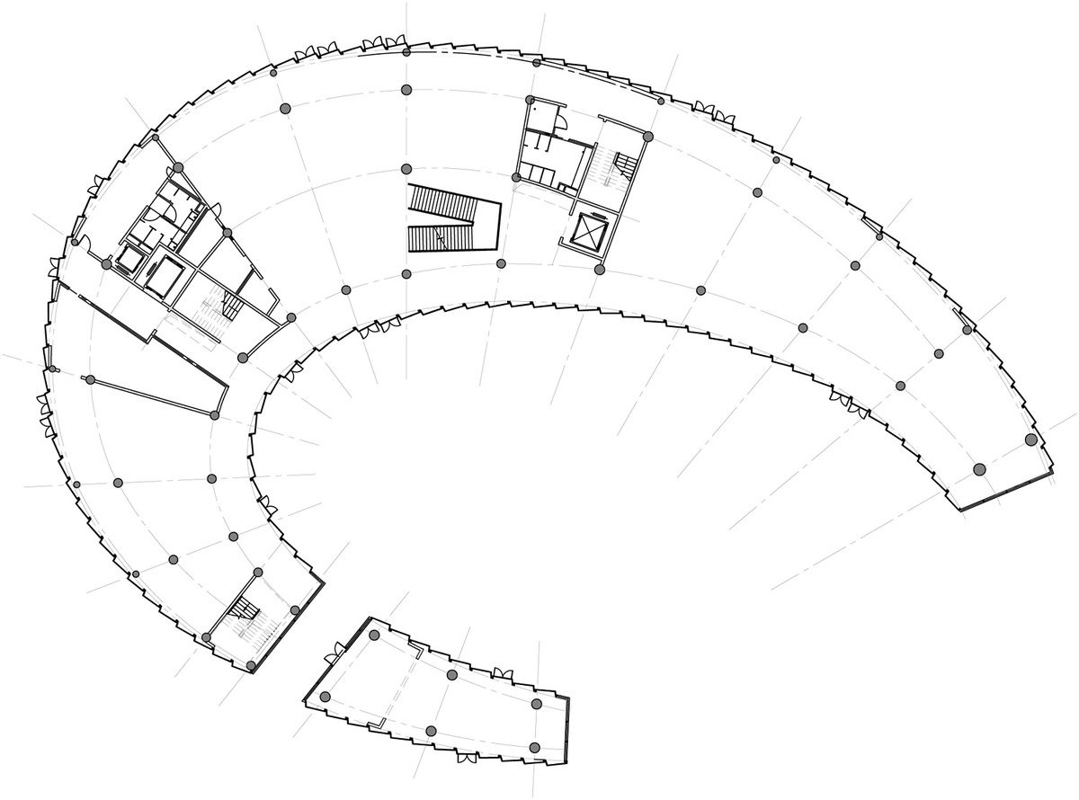 Floor plan: art pavilion. Image courtesy of Chris Y.H. Chan