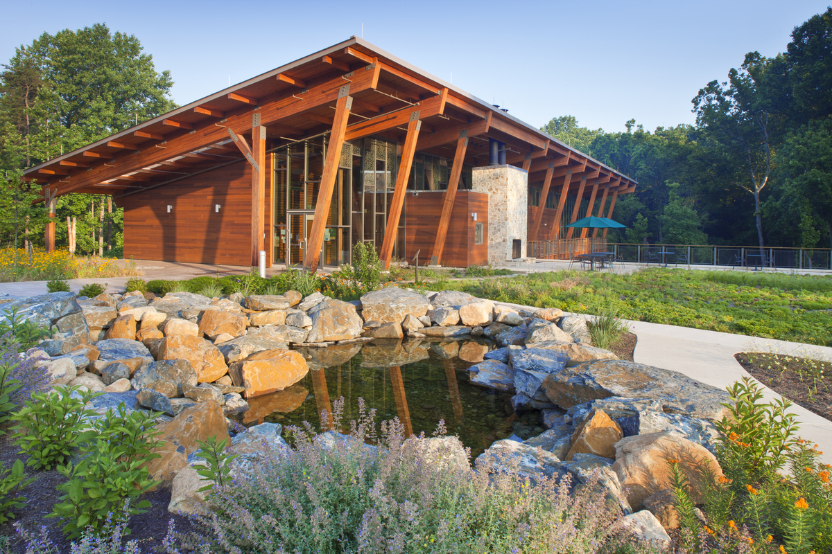 Robinson Nature Center Gwwo Architects Archinect