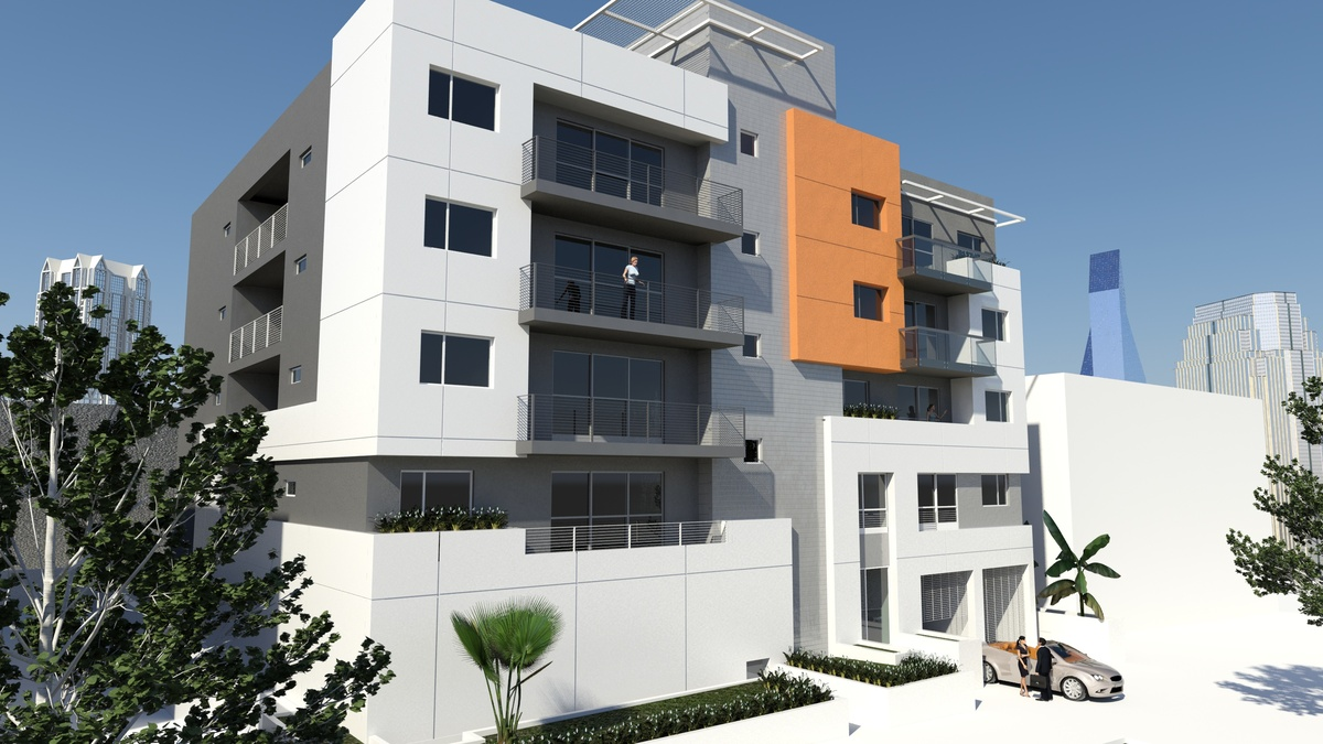 contemporary apartment building located at 744 hartford ave los