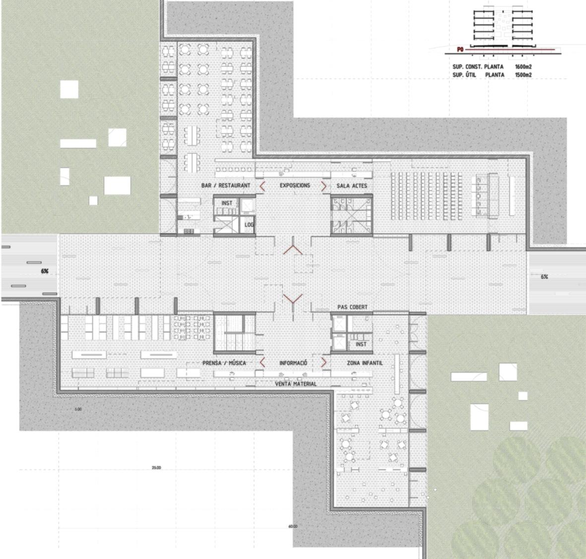 Biblioteca Sant Cugat_planta soterrani