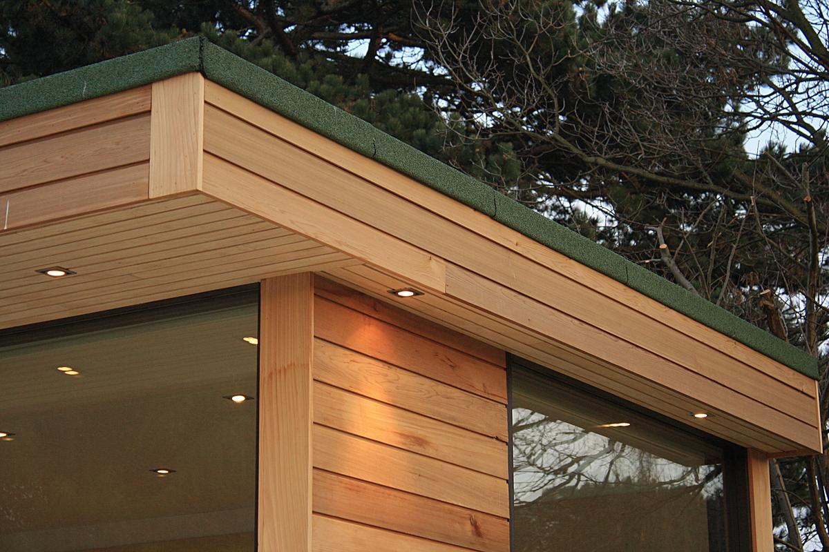Contemporary garden studio in stratford upon avon for Modern garden studio