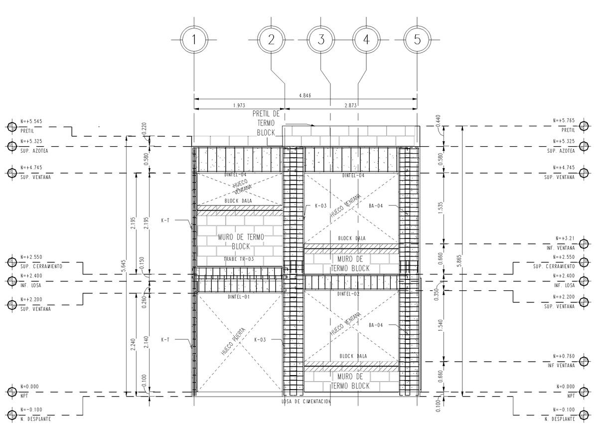 Revit Floor Elevation : Haya house esdras hernandez romero archinect