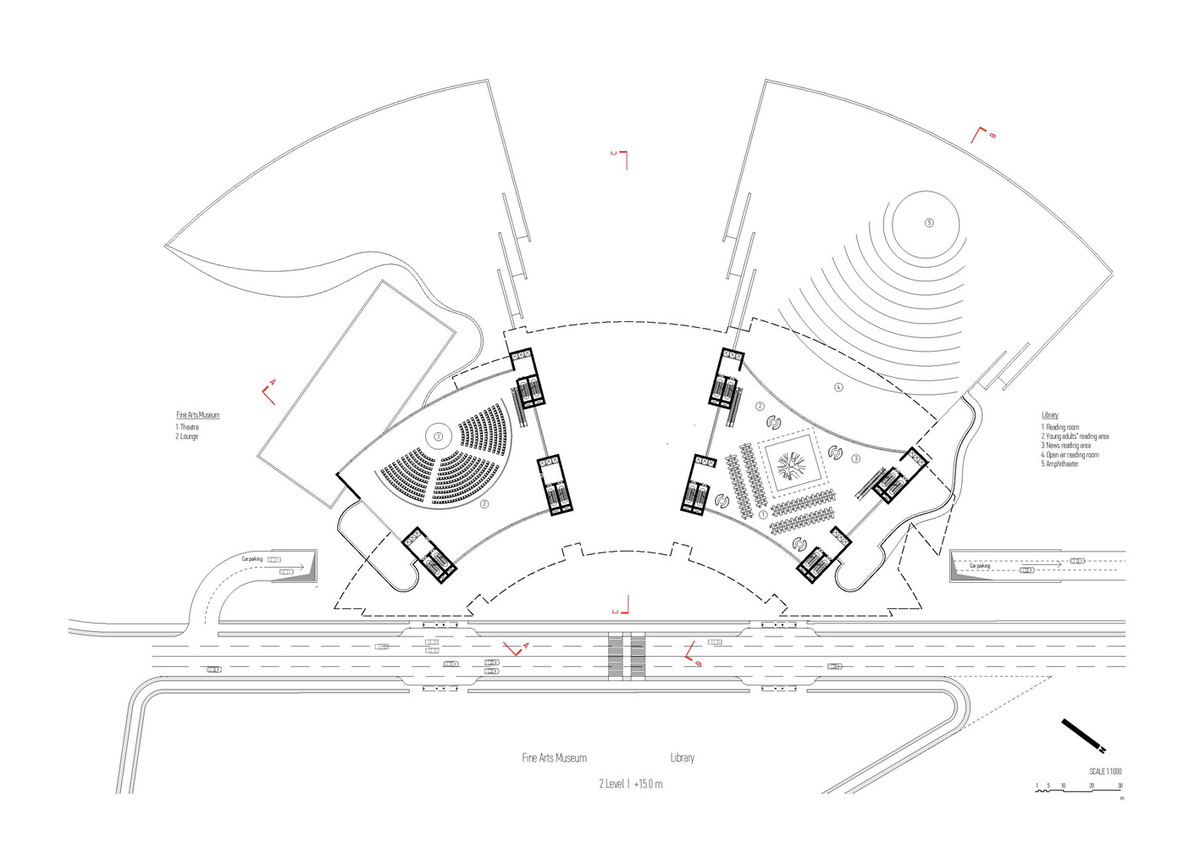 Plan, level 2 (Image: Architecton)
