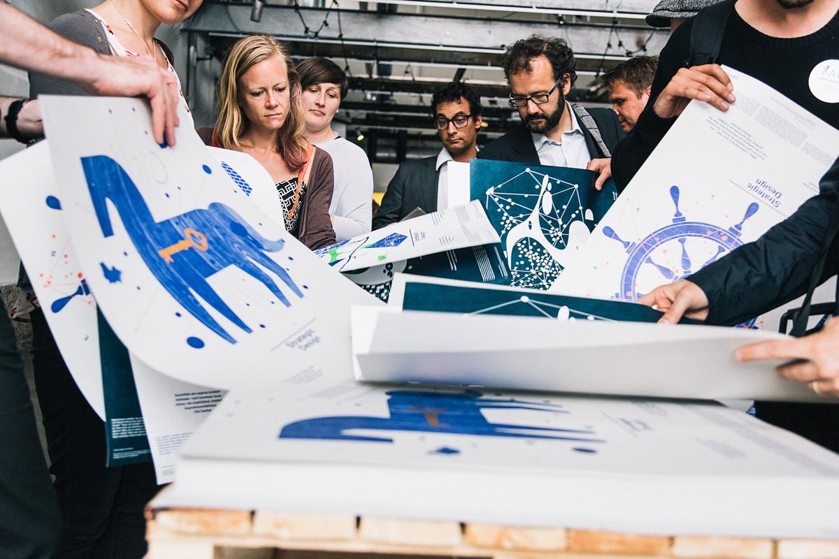 Helsinki Design Lab: Strategic Design described in four posters, also available online
