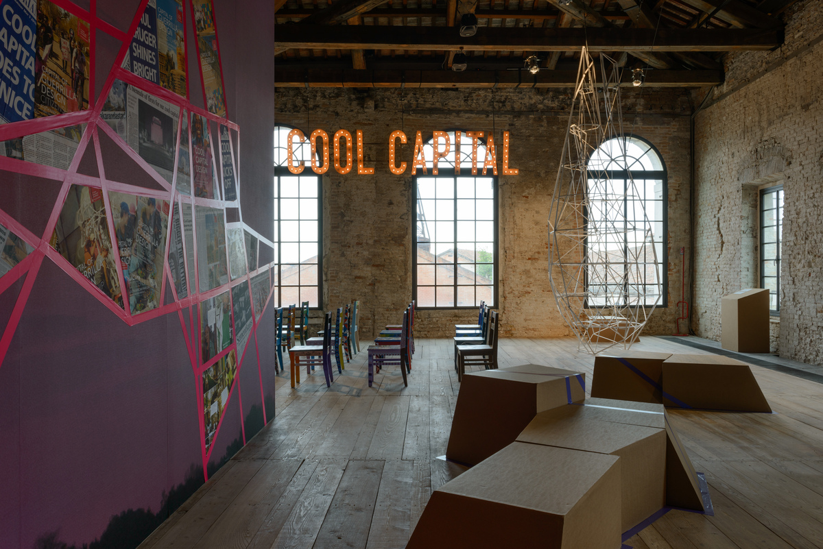 Republic of South Africa, Cool Capital: The Capital of Guerrilla Design Citizenship. Photo by Andrea Avezzù, courtesy of La Biennale di Venezia.