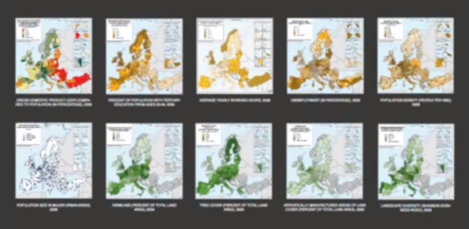 Eurostat: European National Statistics ©Vogt