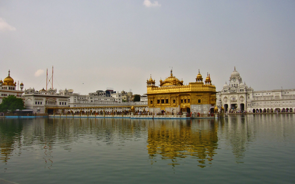 The Golden Temple in all her glory