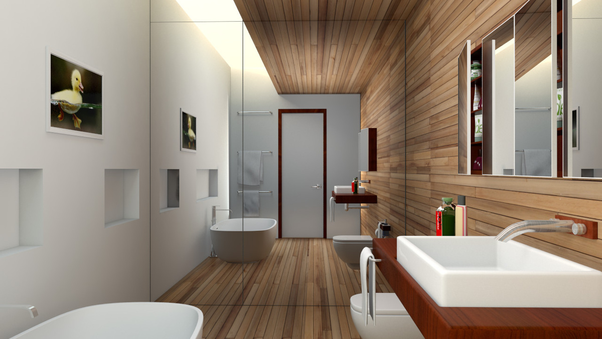 bathroom design 3ds max 2012 mental ray photo shop cs5
