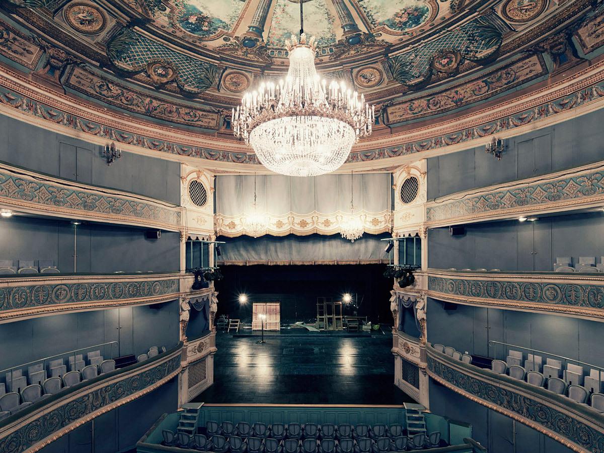 Théâtre Montansier, Versailles © Franck Bohbot