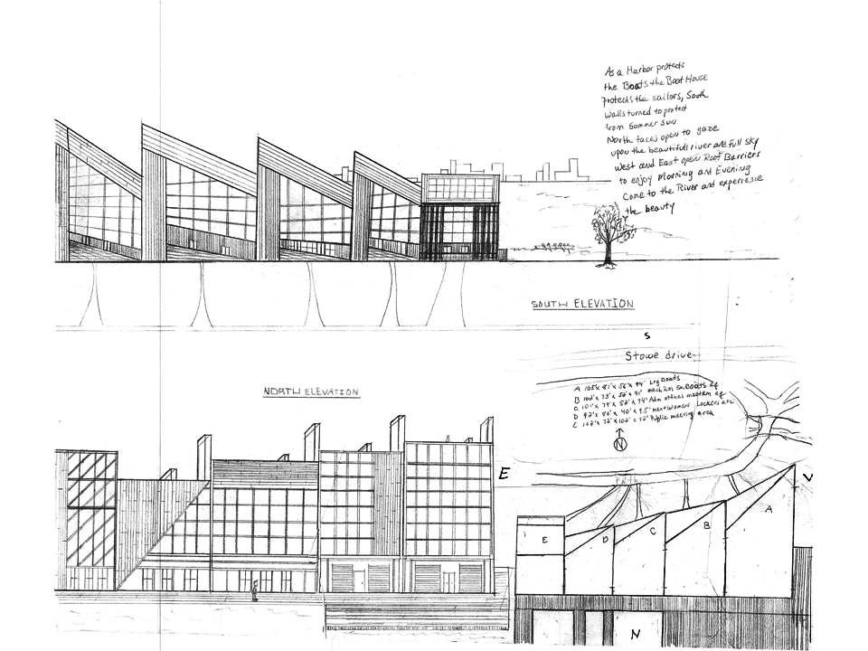 Thinking about facade and how it interacts with enviroment.