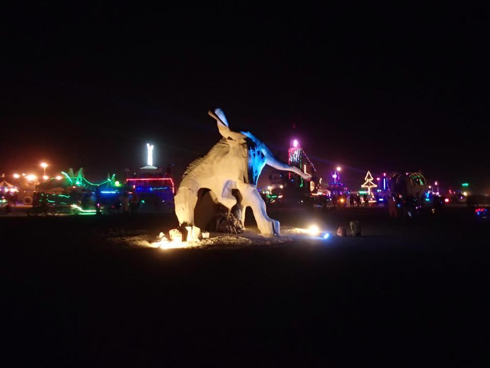 Built piece at Burning Man 2012.