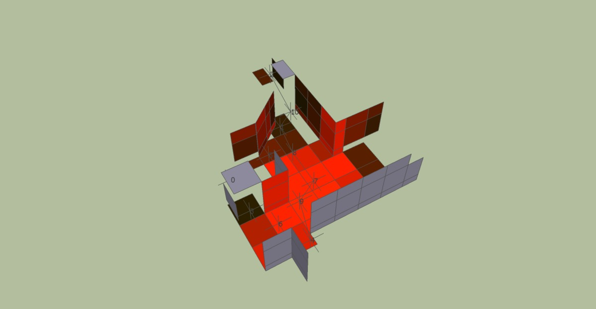 Extracting significant geometry from a site