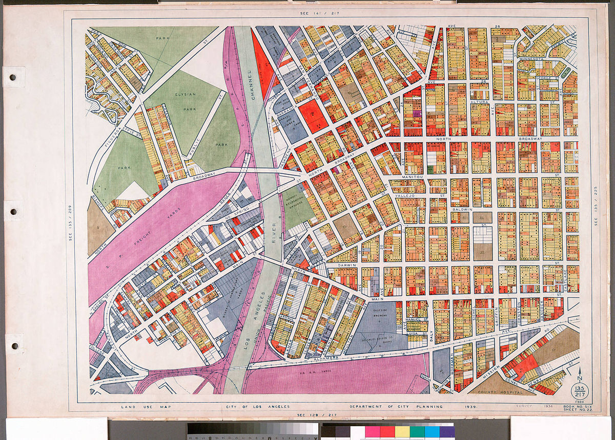 Zoning In Los Angeles Doesnt Allow For Sensible Urban - Los angeles zoning map